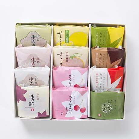【春季限定】春の銘菓詰合せ12個