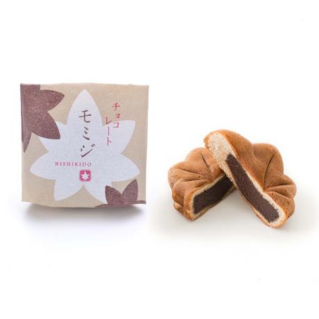 チョコレートモミジ 12個入