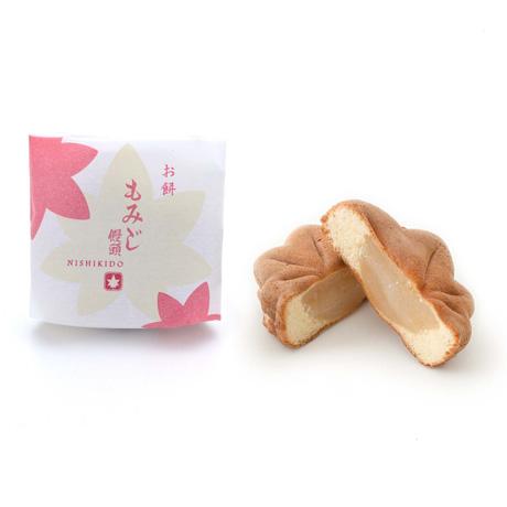 錦もみじ 10個入(こしあん×2、粒あん×2、チーズクリーム×2、チョコレート×2、お餅×1、お芋×1)