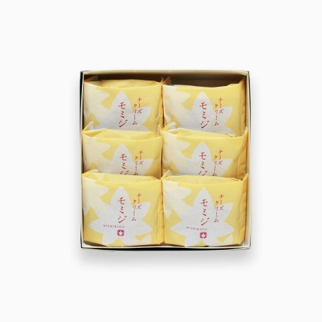 チーズクリームモミジ 6個入