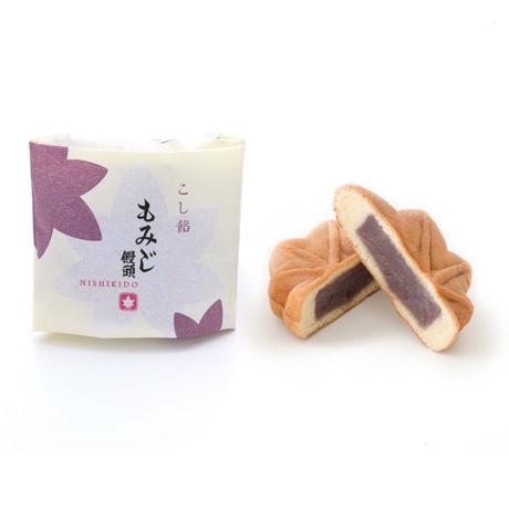 錦もみじ 5個入(こしあん×1、粒あん×1、チーズクリーム×1、チョコレート×1、お餅×1)
