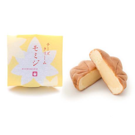 錦もみじ 12個入(こしあん×2、粒あん×2、チーズクリーム×2、チョコレート×2、お餅×2、お芋×2)