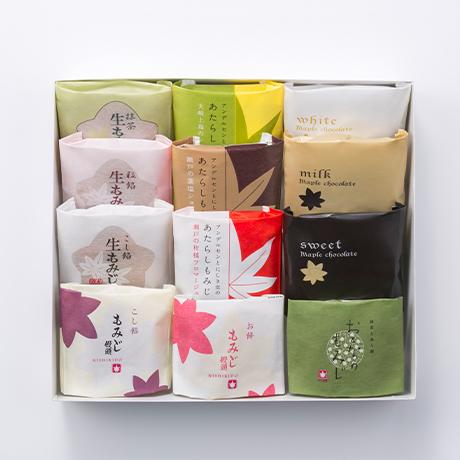 【冬季限定】冬の銘菓詰合せ12個入