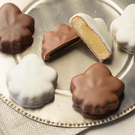 【冬季限定】メープルチョコレート 6個入(スイート×2、ミルク×2、ホワイト×2)