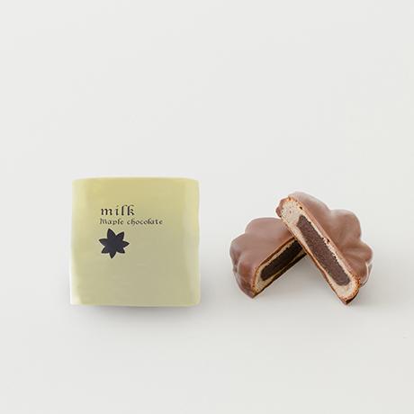 【冬季限定】メープルチョコレート 12個入(スイート×4、ミルク×4、ホワイト×4)