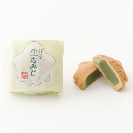 生もみじ 10個入(こしあん×3、粒あん×3、抹茶×4)