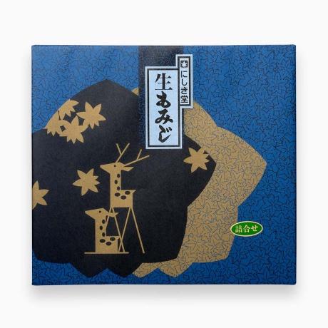 生もみじ 15個入(こしあん×5、粒あん×5、抹茶×5)